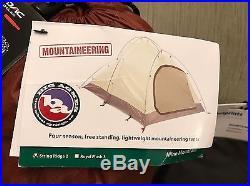Big Agnes String Ridge 2 Person Mountaineer Tent 4 Season + FOOTPRINT Orange NEW