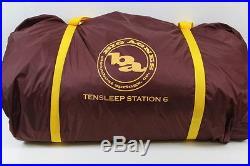Big Agnes Tensleep Station 6 (2016) 3-Season Camping Tent