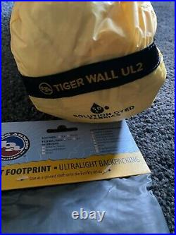 Big Agnes Tiger Wall UL2 with Footprint Ultra Light Tent Brand New
