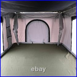 Big Hard Shell Roof Top Camping Tent 50mm Mattress&Ladder Truck Tent Waterproof