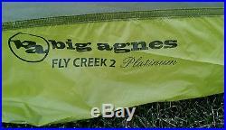 Big agnes fly creek ul2 platinum