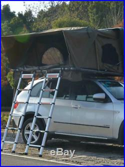 Big suv 4 person hardshell 4wd roof top tent