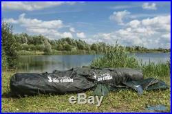 Bivvy Ruck Zuck 2 Mann Karpfenzelt 250x 250cm Angelzelt Quick Shelter