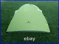 Black Diamond Firstlight 2P tent with ground cloth