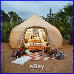 Boutique Camping Tents 4m Luna Bell Tent Sandstone