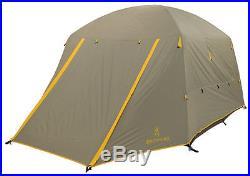 Browning Camping Glacier 4 Person Tent Aluminum Gray/Gold 5492711