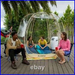 Bubble Camping Tent Camping Gazebos for Patios Pop Up Portable 10'x10