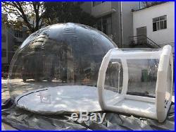 Bubble Tent. Inflatable Outdoor Bubble House Tent. Transparent Stargaze Igloo