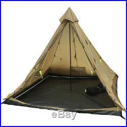Buffalo Hunter 6-Person 4-Season Teepee Tent