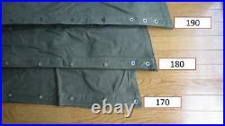 Bushcraft Two Polish large poncho lavvu Size 2, this is a teepee tent, khaki