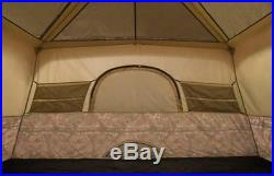 CAMO TENT 8 Person Instant Quick Set Up 60 Seconds Family 13 x 9' Camping Hiking