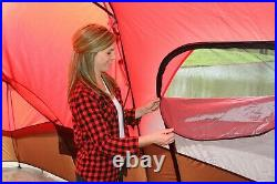 CAMPING TENT Large Family 10 PERSON 3-Room 2-Doors + Storage Pockets Waterproof