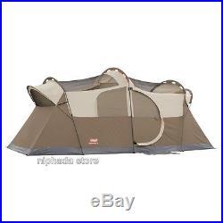 COLEMAN Elite WeatherMaster Screened 10 Person Tent Waterproof Family Camping