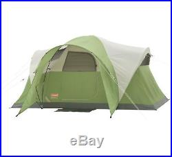 COLEMAN Montana 6 Person WeatherTec Family Camping Tent with Carry Bag 12' x 7