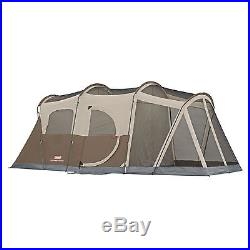 COLEMAN New WeatherMaster 6 Person Family Camping Tent Screened Room WeatherTec