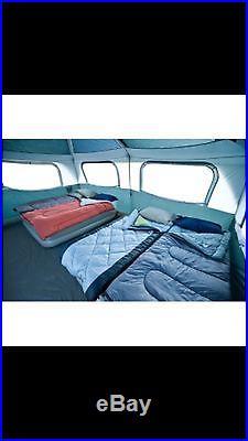 COLEMAN Prairie Breeze 9 Person WeatherTec Camping Tent Fan & Light 14 x 10' New