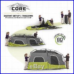 CORE 9 Person Instant Cabin Tent 14 x 9