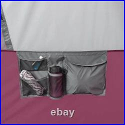 CORE Straight Wall 14 x 10 Foot 10 Person Cabin Tent with Rainfly, Red (Used)