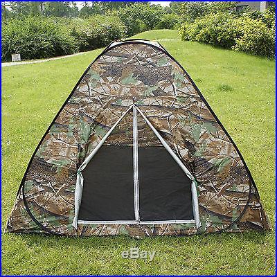 camouflage camping hiking easy setup instant shelter pop. Black Bedroom Furniture Sets. Home Design Ideas