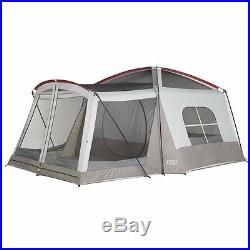 Camping Family Tent 8-Person Hunting Outdoor Shelter Vacation Activities Hiking