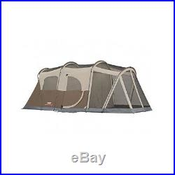 Camping Tent 6 Person Coleman Family 2 Room Outdoor Screened Shelter Hiking