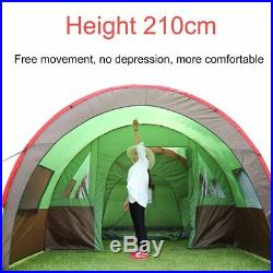 Camping Tent Instant Cabin Outdoor Picnic Camp Travel Family House 8-10 Person