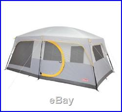 Coleman 10 Person 2-Room Weathermaster II Outoor Screened Camping Tent Shelter