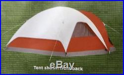 Coleman 2000010637 Red Screened 4-Person Evanston Tent New In Box