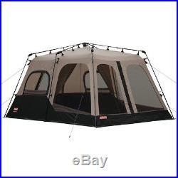 Coleman 2000018295 8-Person Instant Tent, Black (14x10 Feet)