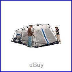 Coleman 2000018295 8-Person Instant Tent Black (14x10 Feet) Blue
