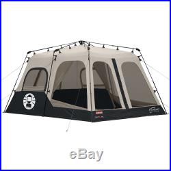 Coleman 2000018295 8-Person Instant Tent, Black (14x10 Feet) NEW! FREE SHIPPING