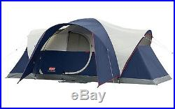 Coleman Elite Montana 8 Person 16x7' Family Camping Tent with WeatherTec & Rainfly