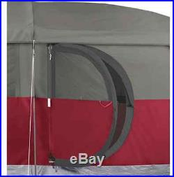 Coleman Hampton Outdoor 6 Person Waterproof Family Hiking Camping Tent Cabin