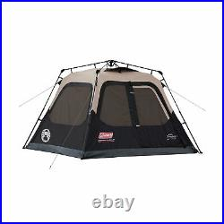 Coleman Instant Cabin Tent 4 Person Outdoor Camping Sleeping Shelter 2000018016