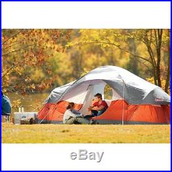 Coleman Red Canyon 8 Person 17 x 10 Foot Outdoor C&ing Large Tent & Tag » canyon « @ Small Camping Tents