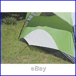 Coleman Sundome 4 Person Family Camping Hiking Dome Tent with Rainfly 8' x 7