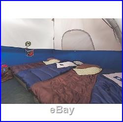 Coleman Sundome 6 Person Outdoor Hiking 10' x 10' Camping Tent with Rainfly Awning