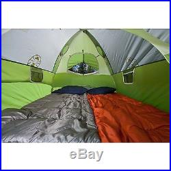Coleman Sundome 6 Person Waterproof Family Camping Outdoor Dome Tent with Rainfly