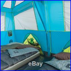 Coleman Tenaya Lake 6 Person Fast Pitch Cabin Tent with Cabinets 2000018142