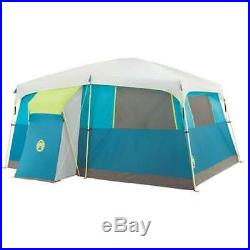 Coleman Tenaya Lake 8 Person Fast Pitch Camping Tent with WeatherTec (Open Box)