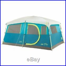 Coleman Tenaya Lake 8 Person Instant Cabin Camping Tent & CamelBak 30 Oz Tumbler