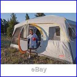 Coleman Tent WeatherMaster II Screened 10 person 16' x 10' Easy setup TENT NEW