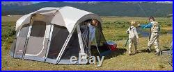 Coleman WeatherMaster 2 Room 6-Person Screened Tent Family Camping Outdoors, New