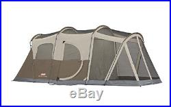 Coleman WeatherMaster 6-Person Screened Tent Cabin Room Instant Camping Family