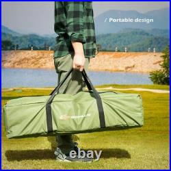 Compact Sleeping Tent Bag Portable Mattress Pop-Up Tent Air 1-Person Camping Bed