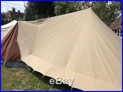 De Waard Lepelaar (Spoonbill) Dutch Pyramid Tent + Varioluifel Awning & 2 Wings
