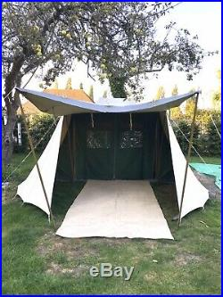 De Waard Zilvermeeuw Dutch Canvas Pyramid Tent. 1 Owner! 10 Weeks On The Clock