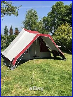 De Wit Noord Holland 4 Berth Dutch Canvas Tent with awning. Virtually perfect