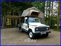 Deluxe 4 Man 1.8M 4X4 Roof Tent 3-4 Person + Annex + Ladder Overland Expedition