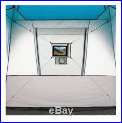 EXTRA LARGE Family CAMPING TENT 12 Person 3 Rooms 20 x 10ft Quick Set Up w Case
